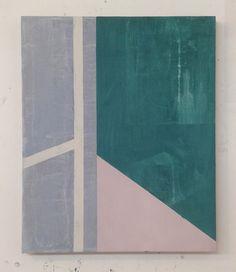 S/T | Fabio Miguez 2014 Óleo e cera sobre linho 60 x 50 cm ( Untitled | Fabio Miguez 2014 oil and wax on linen 60 x 50 cm )