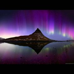 """""""The most amazing aurora display that was so powerful you could see it as the…"""