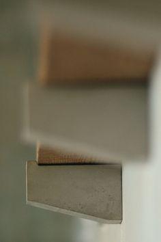 Concrete Shelf Brackets Hooks French Country. $70,00, via Etsy.