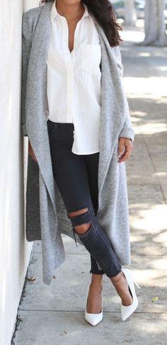 #fall #fashion / oversized coat