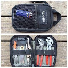 The EDC Tool Roll: Maxpedition Micro Pocket Organizer Urban Survival, Survival Prepping, Survival Gear, Survival Stuff, Bug Out Gear, Survival Project, Edc Gadgets, Tool Roll, Pocket Organizer