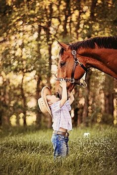 I love  my horse !