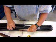 How to repair a patio umbrella rib
