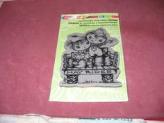 "Stampendous Hay Ride Kiddo's - New ""LQQK"" - Cling Stamp #Stampendous  http://stores.ebay.com/Scrap-a-What"
