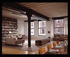 Having a loft, in NYC....
