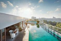 Soho House Berlin has 65 bedrooms, and guests have access to the members' club, gym, spa and rooftop pool. Learn more and book a stay here. Soho House Berlin, Berlin Hotel, Amalfi, Prague, Budapest, Bar Chic, Hotel Boutique, Hotels Portugal, Best Rooftop Bars