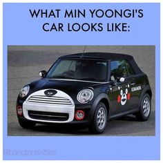 I want this car too but panda or totoro version