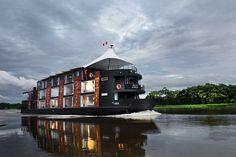 Aqua Expedition: A Private Luxury Cruise Down the Amazon River
