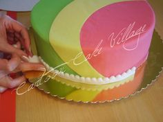 Cartoon Village Cake - Sugar Art - Cake Cartoon Village