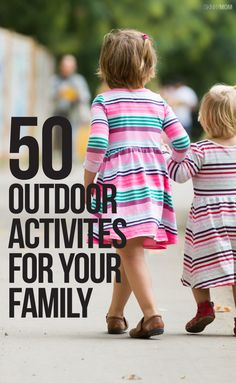 50 ways to get active with your family!