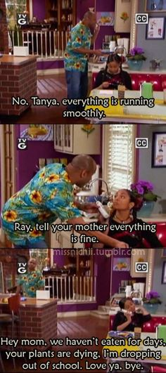 That's So Raven.  2003-2007.  Though Raven Symone can be pretty annoying , i did enjoy this show for the most part.