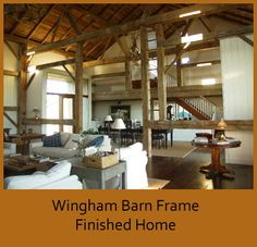 Wingham Barn Finished Home