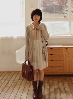 12 Cute Mori Girl Outfits and Style tips for Mori Girl Look Moda Harajuku, Harajuku Mode, Harajuku Girls, Harajuku Fashion, Kawaii Fashion, Girl Outfits, Cute Outfits, Fashion Outfits, Womens Fashion