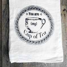 You can never have enough tea towels in your kitchen, and this cheery cotton flour sack set is proof. Tea drinkers will enjoy its vintage teacup print, which proudly proclaims a little love note for ev...  Find the My Cuppa Tea Towel - Set of 2, as seen in the Truth Coffee's Steampunk Revolution Collection