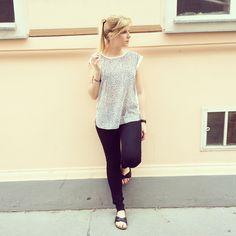 Birkenstock <3 street style Birkenstock, Fashion Inspiration, Street Style, Lace, Tops, Women, Urban Style, Women's, Street Chic
