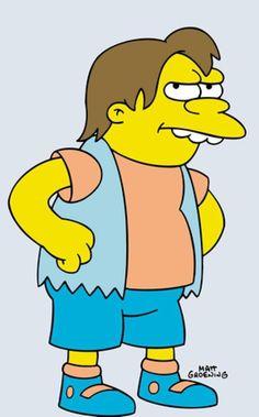 Springfield Characters: Nelson Muntz