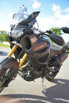 Motorcycle Trailer, Motorcycle Camping, Moto Bike, Motorcycle Style, Camping Gear, Vespa Helmet, Super Tenere, Yamaha Motorbikes, Baby Bike
