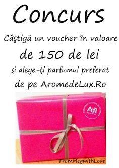 From Meg with Love Blog: Concurs: Câştigă un voucher în valoare de 150 de l...