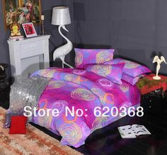 Aliexpress.com : Buy 100% COTTON  Affectionately password Brushed Reactive Printing   bedding sets duvet cover Bedding sheet bedspread pillowcase from Reliable sheet sets full size suppliers on Yous Home Textile $68.00