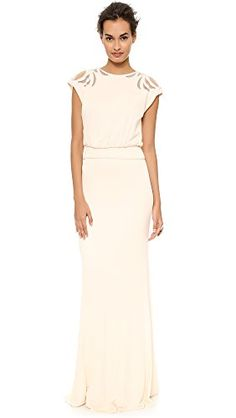 BADGLEY MISCHKA Badgley Mischka Collection Women'S Keyhole Gown. #badgleymischka #cloth #