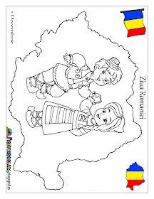 Fise de lucru - gradinita: HARTA ROMANIEI - 1 Decembrie - COPII in Costume TRADITIONALE 1 Decembrie, Wpc Decking, Fall Coloring Pages, Activities For Kids, Kindergarten, Preschool, Snoopy, Drawings, Handmade