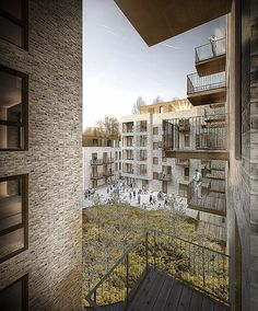 New DGNB-gold level residential complex in Nordhavnen, Copenhagen, by C.F. Møller Architects