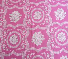 Casey Scroll Jennifer Paganelli Fabric JP01 Pink Freespirit Cotton OOP by TheSewery on Etsy