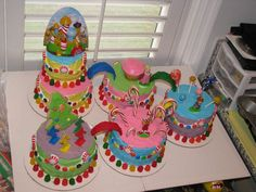 Candyland Cake, but make each cake a different area of the board game? @Haley Bunting