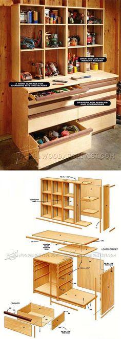 Ultimate Tool Cabinet Plans - Workshop Solutions Plans, Tips and Tricks | WoodArchivist.com
