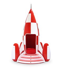 Rocky Rocket is a armchair completely handmade with light and sound system controlled by a mobile app.