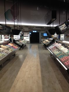 Supermarket in the future  Expo 2015  June