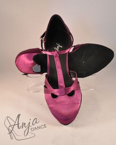Plum Satin T-Bar Dance Shoe. Varieyt of heel heights available. Sizes from EU to EU Other sizes available to order. Available in other colours. For current prices and to order visit the website. Bar Dance, Ballroom Dance, Tap Shoes, Dance Shoes, Pretty Shoes, Plum, Lace Up, Satin, Colours
