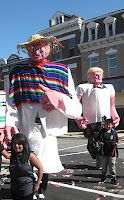 2010 Chicago Marathon in the predominantly Hispanic Pilsen community.