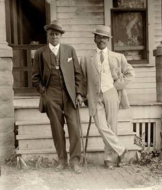Two dapper men in Lincoln, Nebraska: Historic photographs of black Lincolnites in the early 1900s — taken by a black photographer — will hang in the new National Museum of African American History and Culture in Washington.
