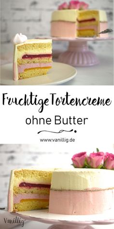 fruity cake cream without butter - Kuchen Backen - Rezepte - cake recipes Peanut Butter Cheesecake, Vegan Peanut Butter, Baking Recipes, Cookie Recipes, Dessert Recipes, Drink Recipes, Speculoos Cookie Butter, Cookies And Cream Cake, Naked Cakes