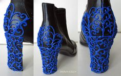 Decorate your shoes with a 3d Doodler pen