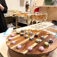 Champagne and chocolate (local maker while I do a little Christmas shopping via Little Christmas, Christmas Shopping, Nebraska, Champagne, Chocolate, Dining, Eat, Instagram, Food