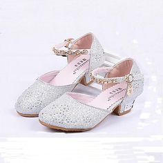 Do you think I should buy it? Flower Girl Shoes, Girls Shoes, Flower Girls, Shoes Sandals, Dress Shoes, Princess Shoes, Crystal Shoes, Glitter Heels, Glass Slipper
