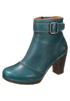 Low Boots Art RIO - Boots à talons - bleu pétrole bleu pétrole: