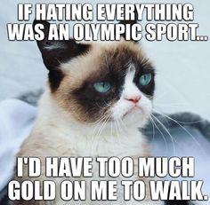 Olympics of #Grumpy