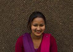 Dette er Sabina!  #UllKuleTeppe #samfunn #støtte #Nepal #Norge #norskehjem #hjemmet #håndlagd