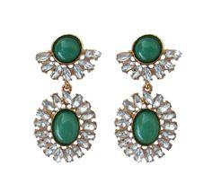 Old-Green-Earrings