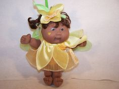 Garden fairy Cabbage Patch Kids Daffodil doll