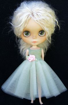Blythe Rag Bag Designs Zen Glam Gown Dress by BlytheRagBagDesigns, $30.00