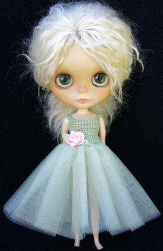Blythe Rag Bag Designs Zen Glam Gown Dress by BlytheRagBagDesigns, $30.00