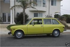 Cars we had...Fiat 128 Wagon, but in red
