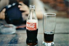 I love glass Coca-Cola bottles