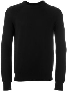 SAINT LAURENT Knitted Sweater. #saintlaurent #cloth #sweater