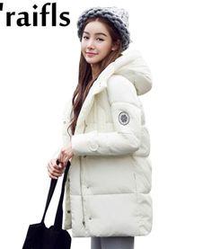 AliExpress : k'raifls 17 New Fashion Women's Winter Jackets and Coats Female Thick Warm Slim Hooded Winter Jackets For Women Long Parkas