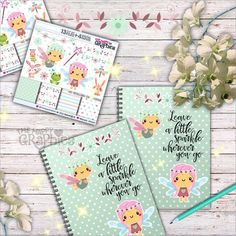 We can create a DIY inspiration notebook with cute graphics like these and collect our favorite images, quotes and ideas. Go ahead & make your lovely inspiration notebook with the digital papers for backgrounds & graphics to decorate & create your layout.